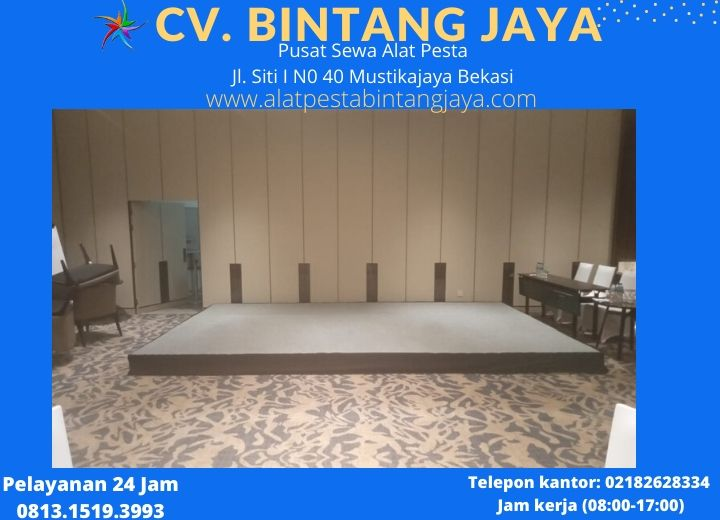 sewa Panggung Jakarta